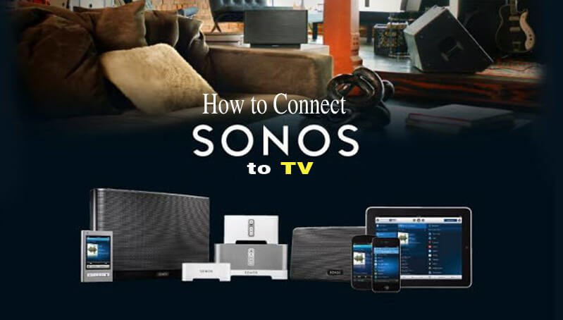 How to connect Sonos to tv