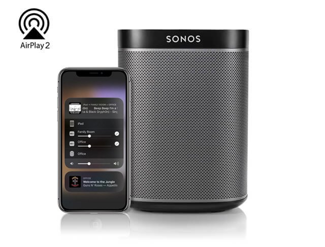 How To Use Airplay 2 With Sonos- livingspeaker 04
