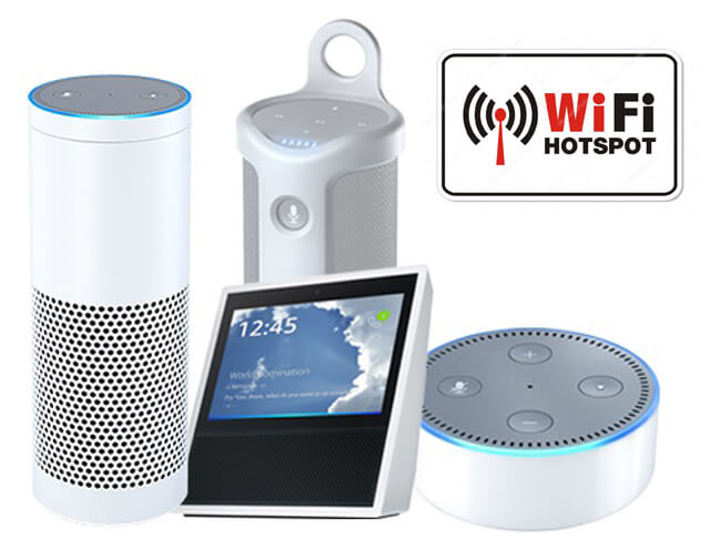 Can Alexa Connect To The Hotspot 02