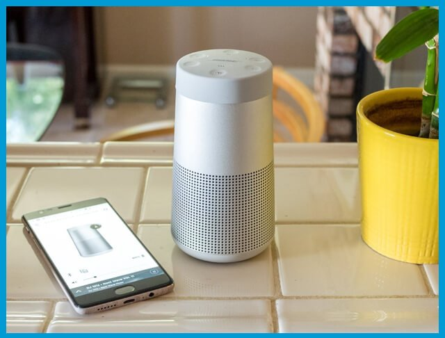 How to connect Bose Soundlink Revolve to Alexa 01