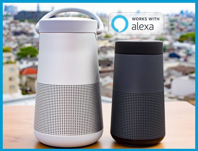 How to connect Bose Soundlink Revolve to Alexa