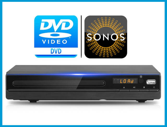 Best DVD Player For Sonos