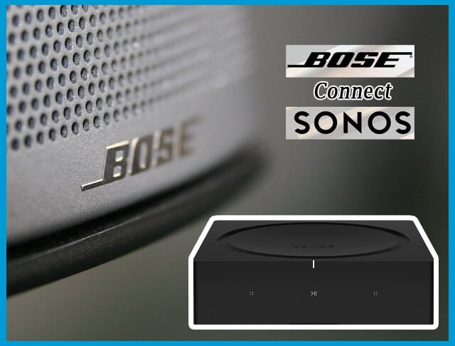 How To Connect Bose Speakers To Sonos