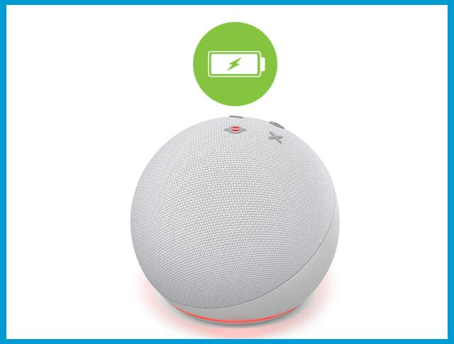 Does Echo Dot Have A Battery